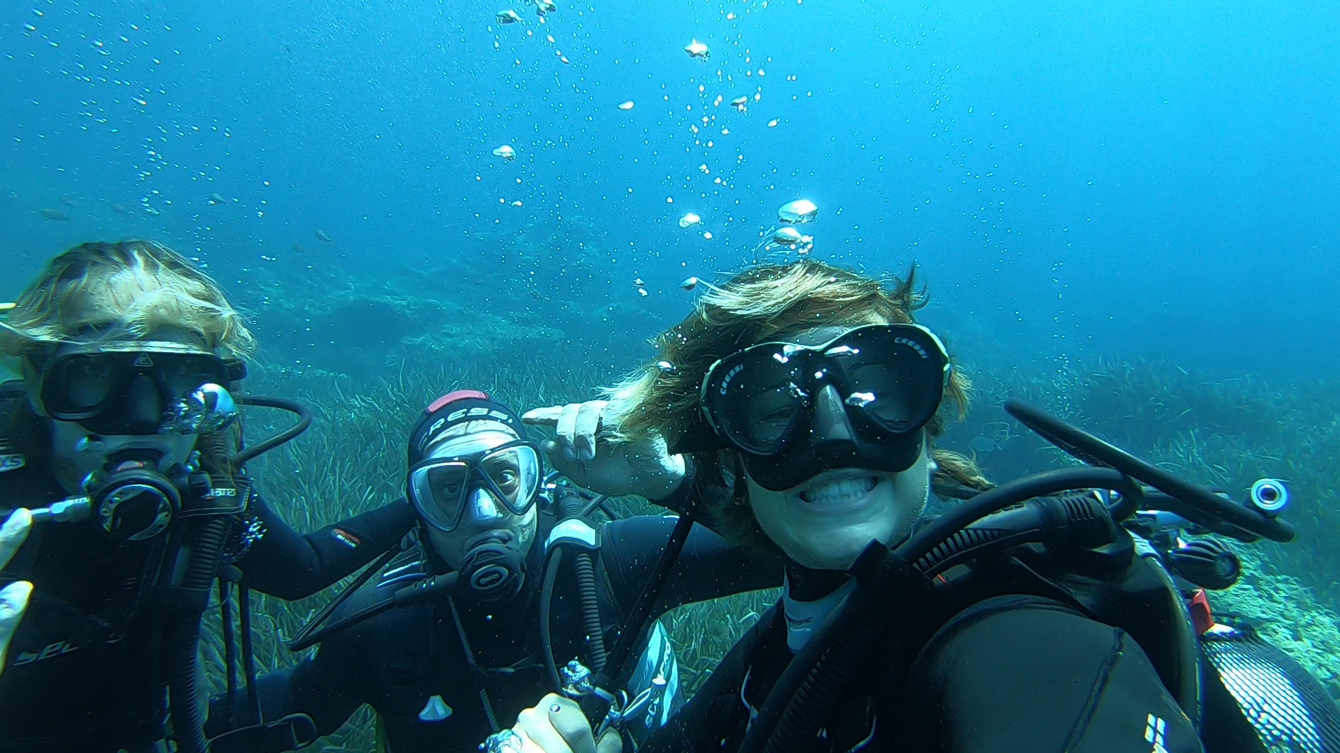 Mattia and Genny's Discover Scuba Diving with Elisa