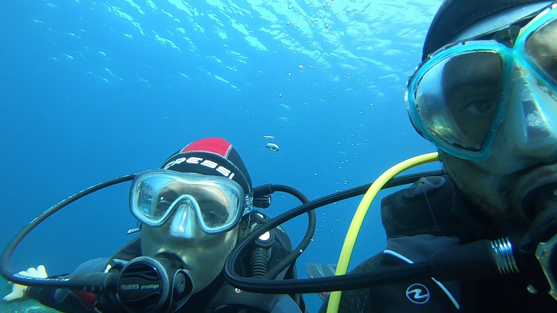 Ivana's Discover Scuba Diving with Lucio